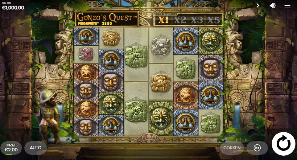 Slot game Gonzo's Quest Megaways