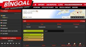 Bingoal Belgische Paardenrennen ScreenshotWe