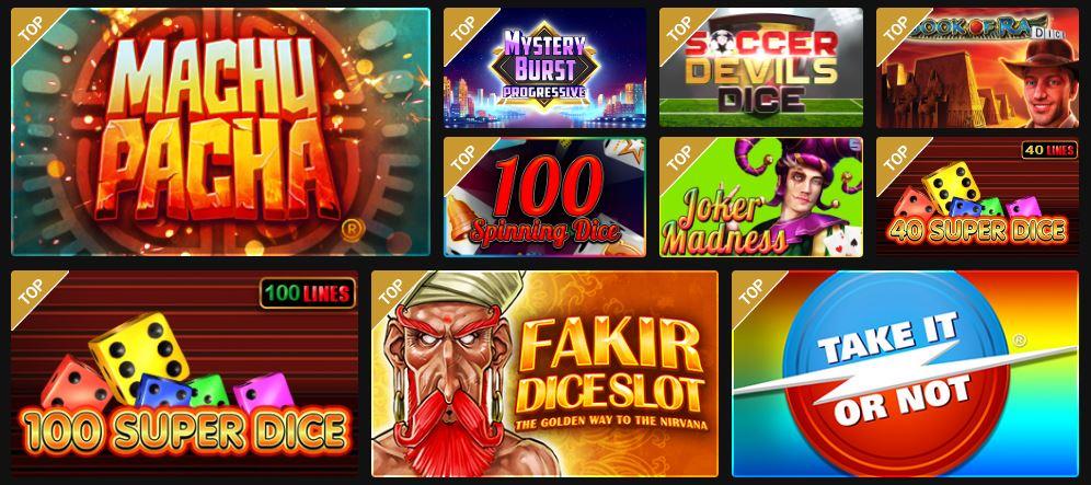 Games Golden Vegas Dice