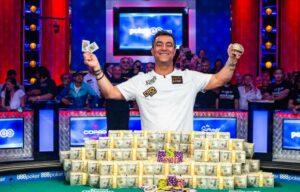 Hossein Ensan bij World Series of Poker